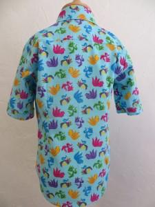 chemisette été dos